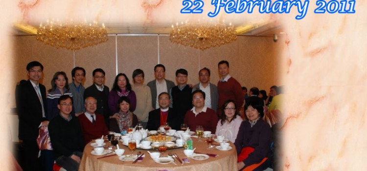 Dinner after Sports Day on 22 February 2011