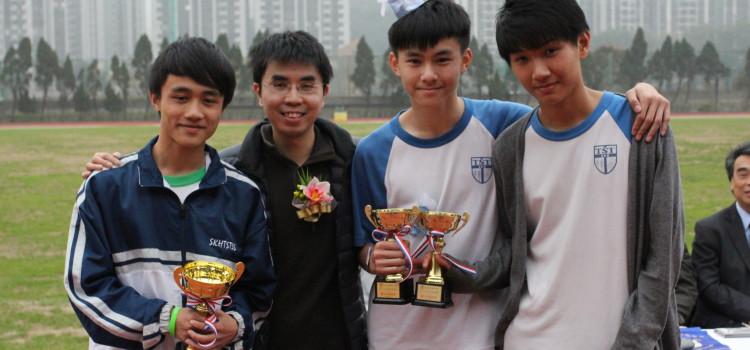Alumni at Sports Day