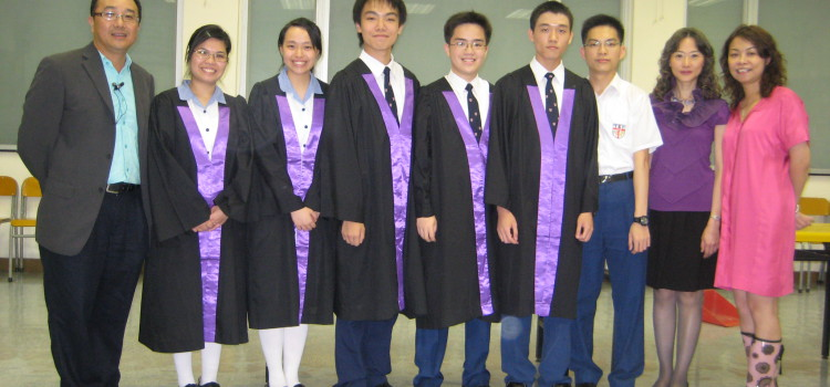 Alumni at the 27th Speech day on May 23, 2009