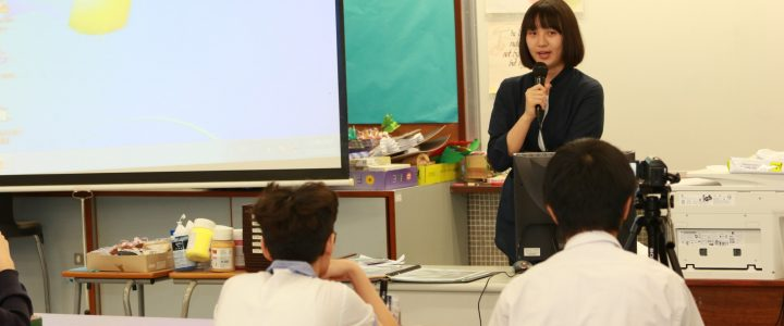 Alumna in F4 Integrated Arts(IA) and Career Video Mentorship Project昔日情