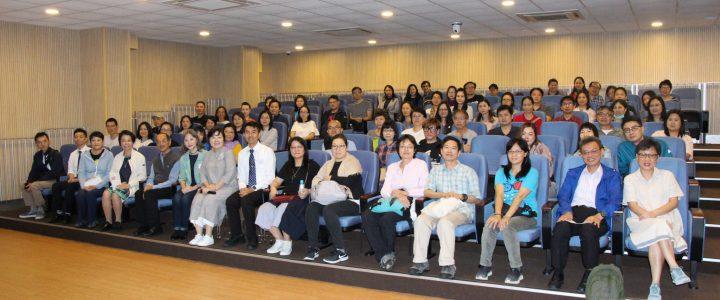 The Career and Life Planning (CLP) Team at the Parent-Teacher Association (PTA) Workshop