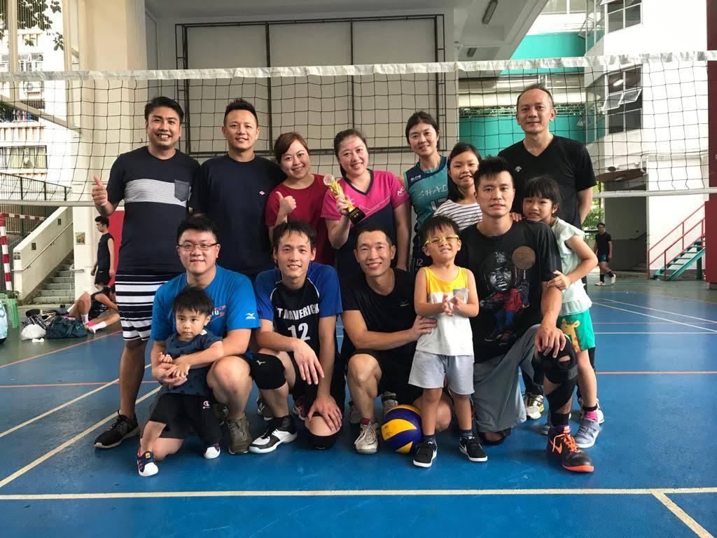 Alumni Association Ltd Volleyball Matches