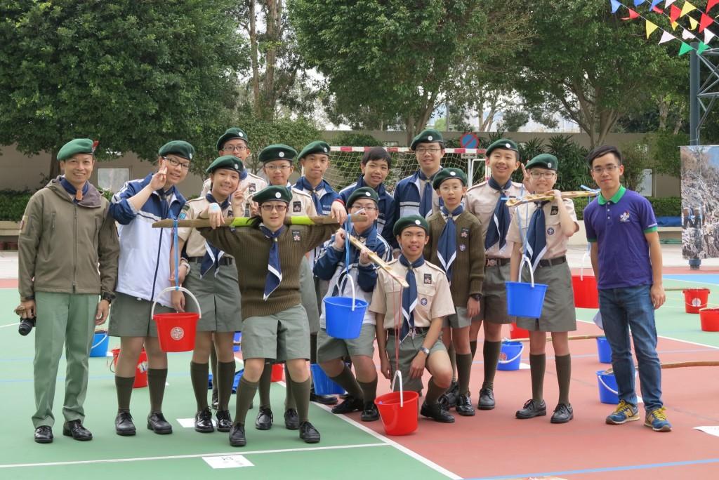 Scouts & alumni leaders
