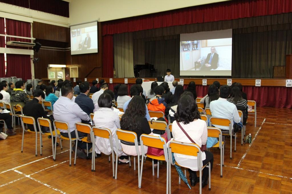 11a_Partner school 2014_15 TWHGs Li Ka Shing College sharing