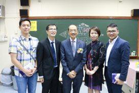 Alumni at 36th Speech Day