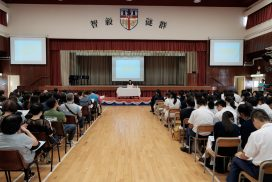 F6 Pre-DSE Talk by Career and Life Planning Team on September 21, 2019