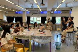 Alumna's makeup Workshop for F6 graduates (2019-20)